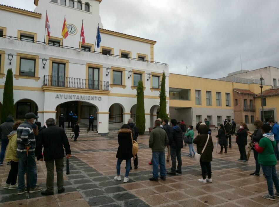 Ejecutado desahucio con tres menores en San Sebastián de los Reyes