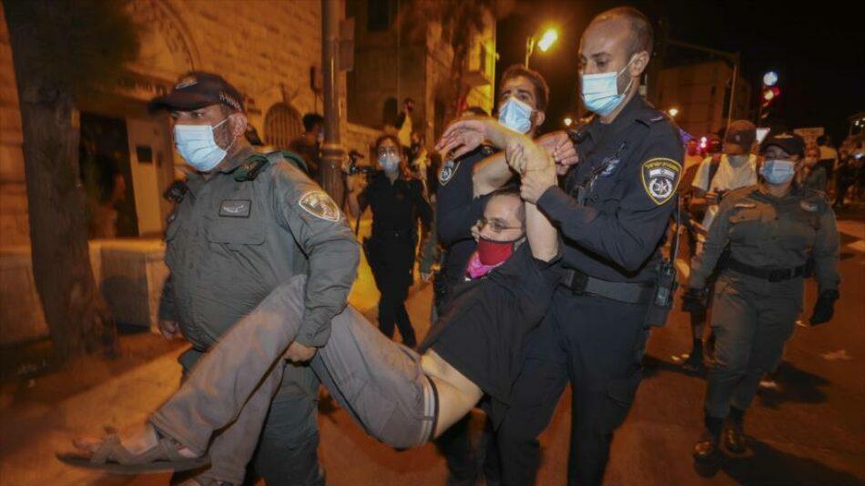 Israelíes piden cárcel para Netanyahu tras su designación