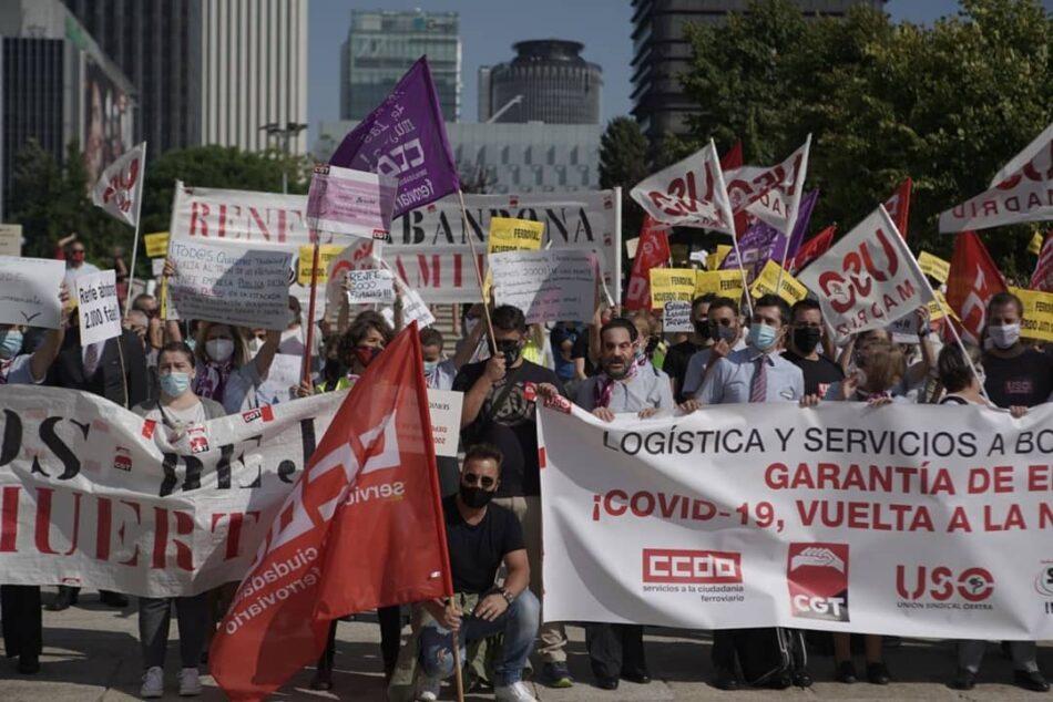 CGT convoca paros en ADIF y denuncia la vulneración y obstruccionismo al Derecho de Huelga