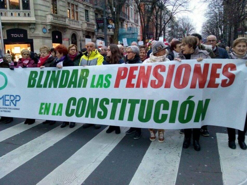 """La MERP lanza la campaña """"El candado de las Pensiones"""""""