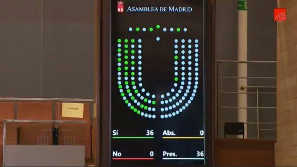 IU Madrid denuncia la publicación en el BOCM de la polémica reforma de la Ley del Suelo