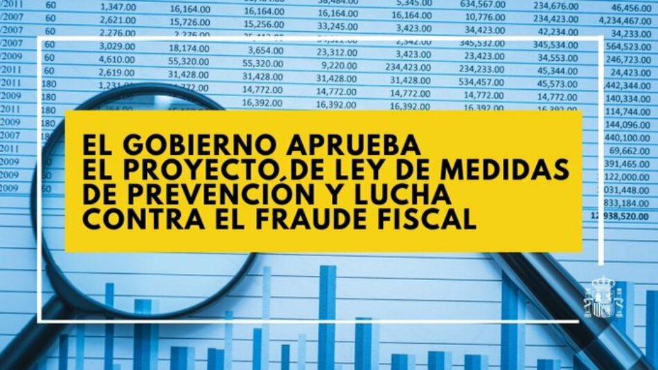 Gobierno PSOE-Unidas Podemos aprueba el anteproyecto de ley que prohíbe las amnistías fiscales