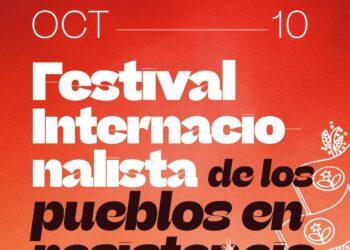 El Festival Internacionalista de los Pueblos en Resistencia celebra con música y cultura la resistencia anti-imperialista