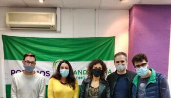 Responsables del Colectivo Armenio de Granada solicitan apoyo a Podemos Andalucía para su petición de alto el fuego en el conflicto en Nagorno Karabaj