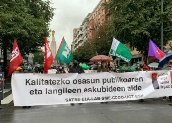 El PCE-EPK respalda las jornadas de huelga en Osakidetza contra las externalizaciones y la precariedad
