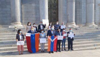 """Enrique Santiago traslada el """"apoyo y la solidaridad"""" de Unidas Podemos al pueblo armenio y a su comunidad en España frente al """"criminal ataque de Azerbaiyán"""""""