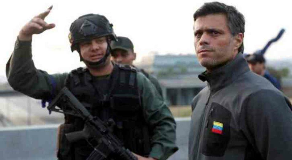 Declaración del FAI sobre el refugio en España de Leopoldo López