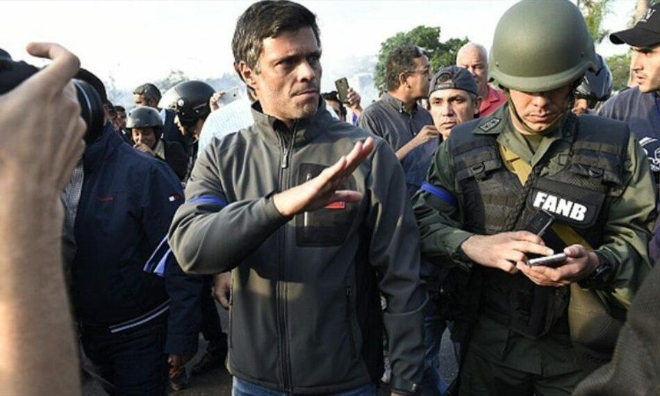 Leopoldo López se refugia en Colombia tras abandonar la embajada española en Caracas