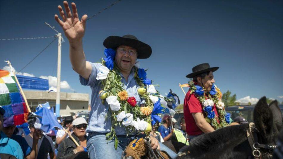Encuestas dan posibilidades de una victoria del MAS en la primera vuelta en Bolivia