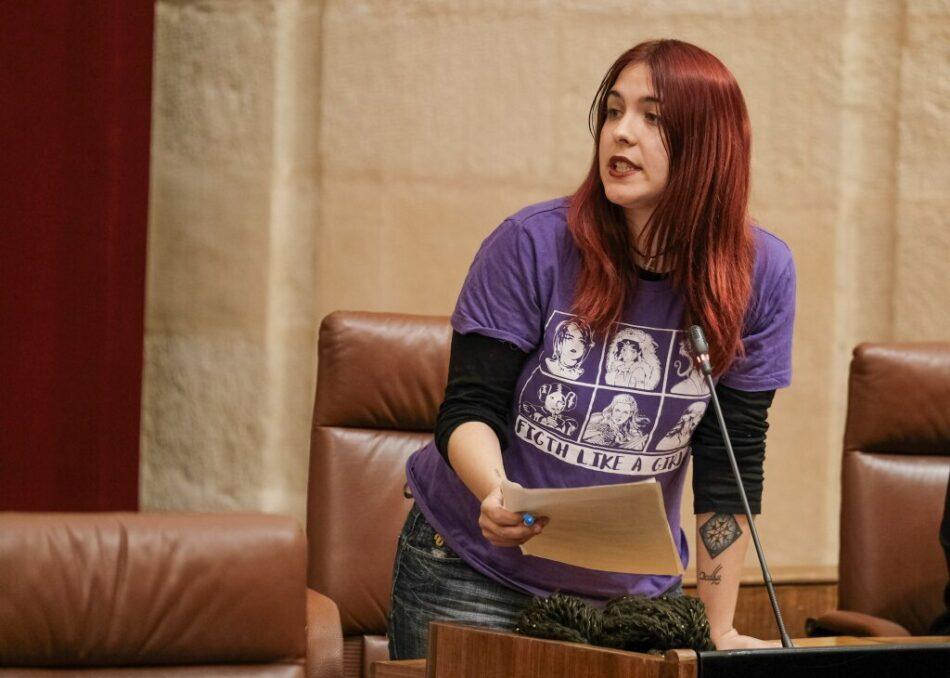 Adelante Andalucía denuncia el bloqueo del Gobierno andaluz a las políticas de infancia