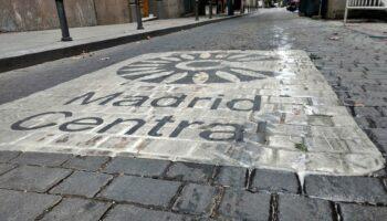 El Ayuntamiento de Madrid se persona en los juzgados para eliminar Madrid Central