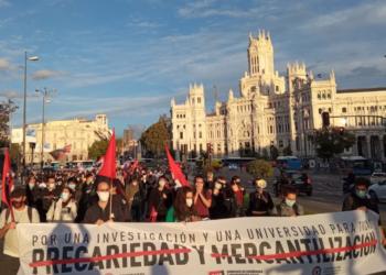 Crónica de la huelga en las Universidades e Investigación