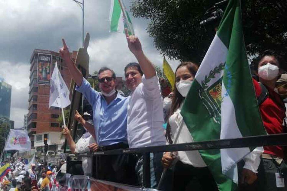 Coalición UNES tendrá dupla presidencial en comicios de Ecuador