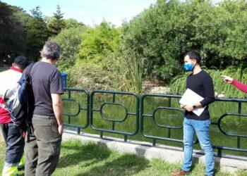 """IU exige más inversión pública en el parque de Los Príncipes """"para que tenga los medios e infraestructuras propios de este siglo"""""""