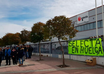 Izquierda Unida y el PCE de Getafe y de Torrejón de Ardoz apoyan a los trabajadores y trabajadoras de la empresa Selecta
