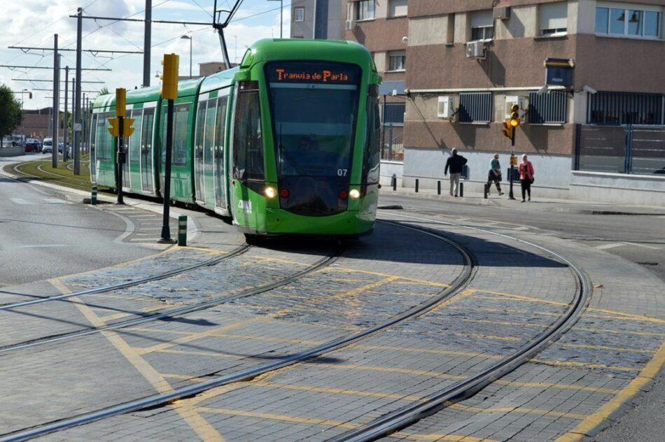 Unidas Podemos Izquierda Unida registra una PNL para integrar el tranvía de Parla en el Consorcio Regional de Transportes