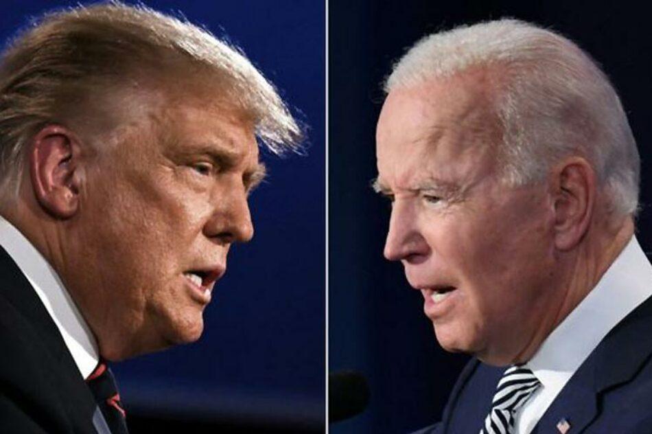 Trump, rezagado en encuestas, llega a último debate con Biden