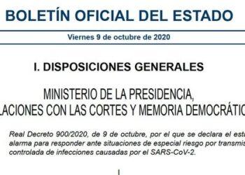 «La protección de la salud de los españoles es la prioridad de este Gobierno»: el estado de alarma en la Comunidad de Madrid entra en vigor de forma inmediata