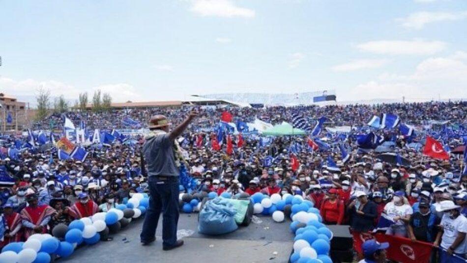 MAS reitera que ofrecerá Bono Contra el Hambre a los bolivianos