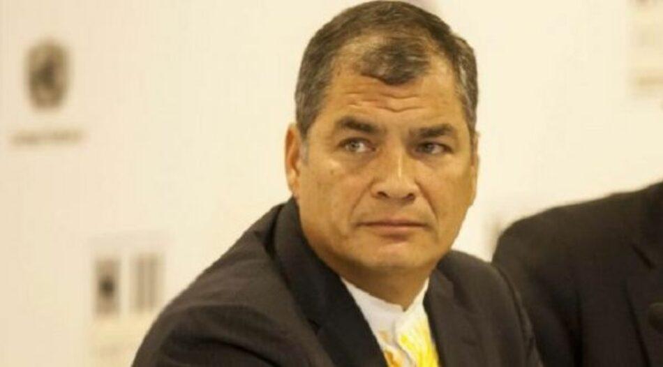Correa confía en victoria de binomio Arauz-Rabascall en Ecuador