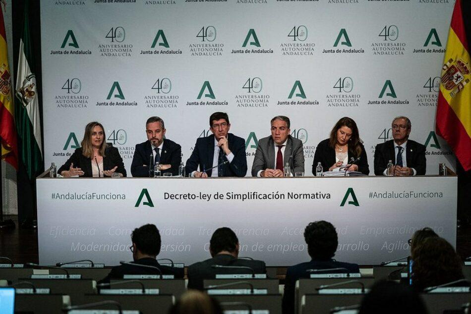 """Unidas Podemos recurre ante el Tribunal Constitucional el """"decretazo"""" de la Junta de Andalucía"""