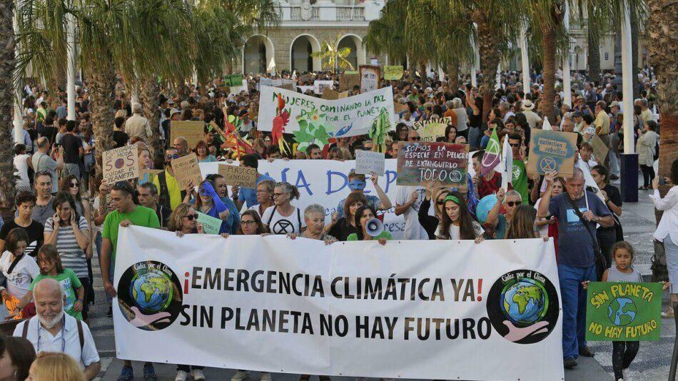 """EQUO Verdes Andalucía exige que el 24 de octubre sea un """"auténtico día de acción"""" ante el cambio climático"""