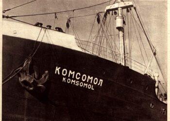 El hundimiento del «Kosomol», acto de piratería y barbarie franquista. 12 de diciembre de 1936 (crónica del dia)