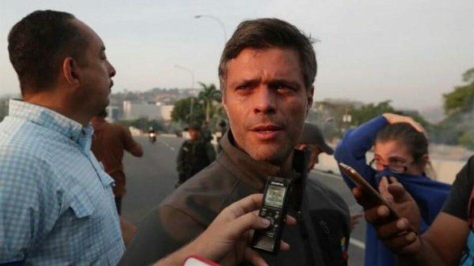 Leopoldo López, el factor Madrid y el fracaso de la «estrategia Guaidó»