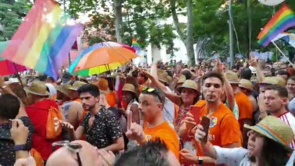 Podemos Andalucía exige la destitución del nuevo director del IAJ de Granada por escupir a personas del colectivo LGTBI durante el Orgullo
