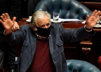 El adiós de Sanguinetti y Pepe Mujica