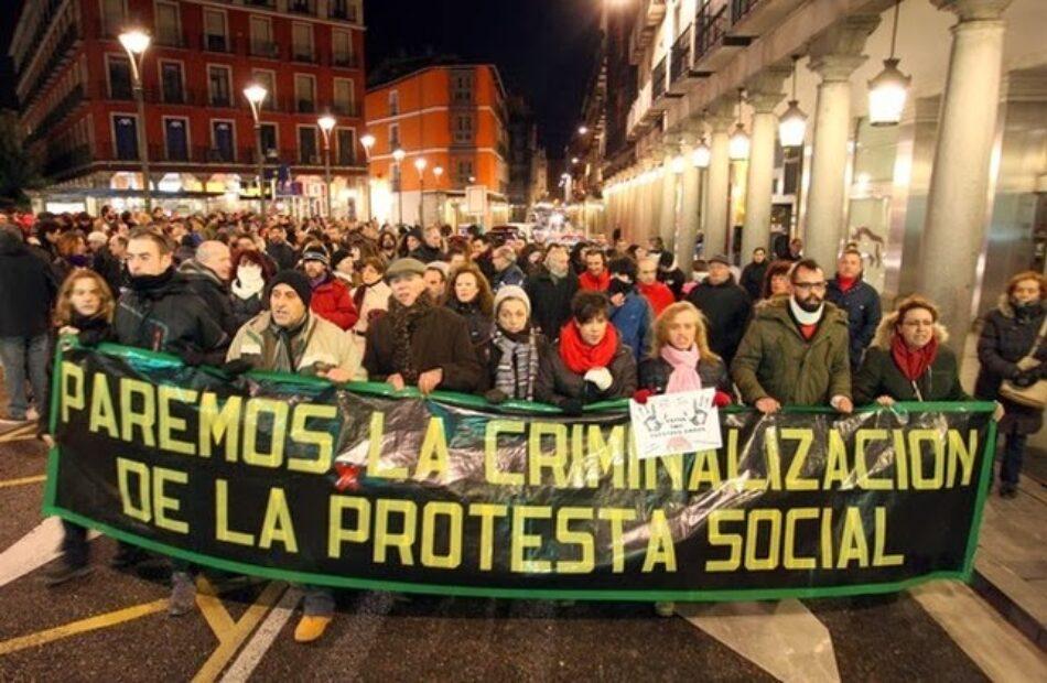 IUCyL muestra su satisfacción por la sentencia del Tribunal Europeo de Derecho Humanos condenando la violencia policial en una manifestación en Valladolid en 2014