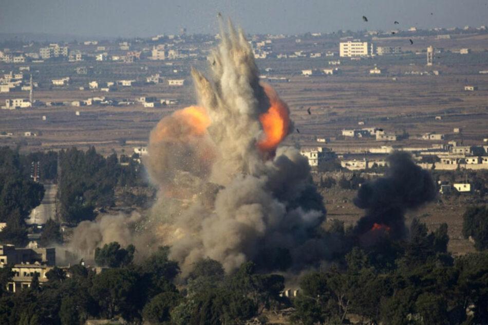 Siria responde a terroristas en el norte