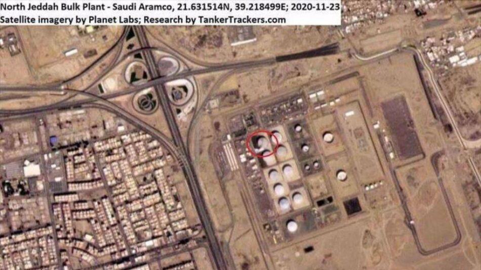 Riad: Misiles yemeníes golpearon el núcleo de la economía mundial