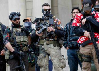 En vísperas de elecciones suenan tambores de violencia en EEUU