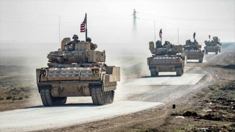 EEUU envía 60 camiones y coches blindados a zona petrolera de Siria