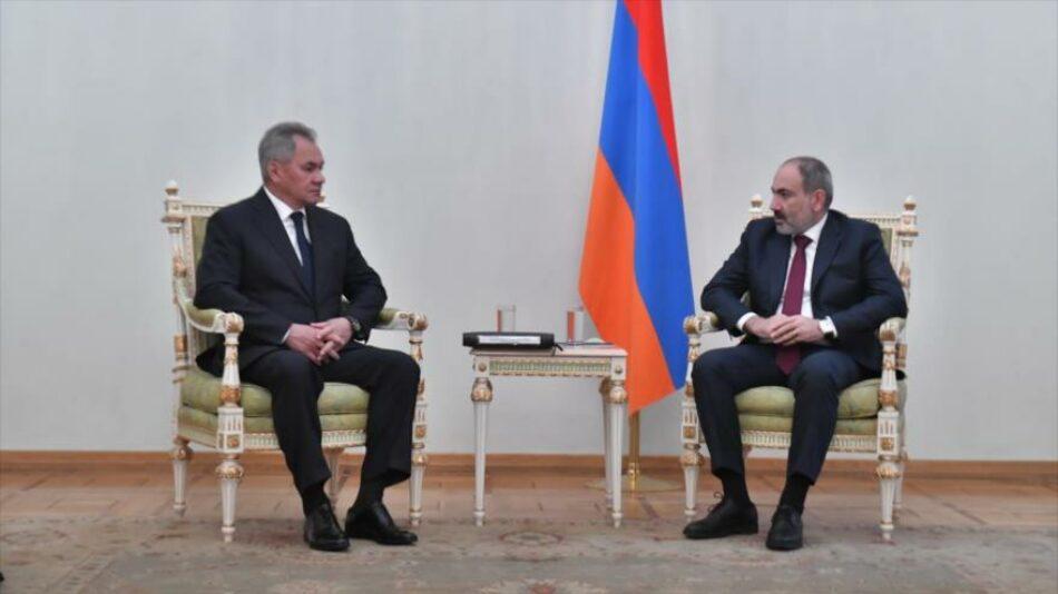Armenia anuncia que estrechará su cooperación militar con Rusia tras su derrota en Nagorno-Karabaj