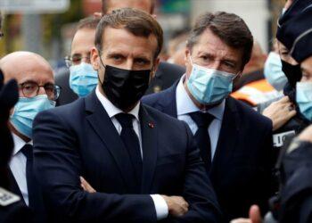 Macron denuncia la postura belicosa de Erdogan ante la OTAN