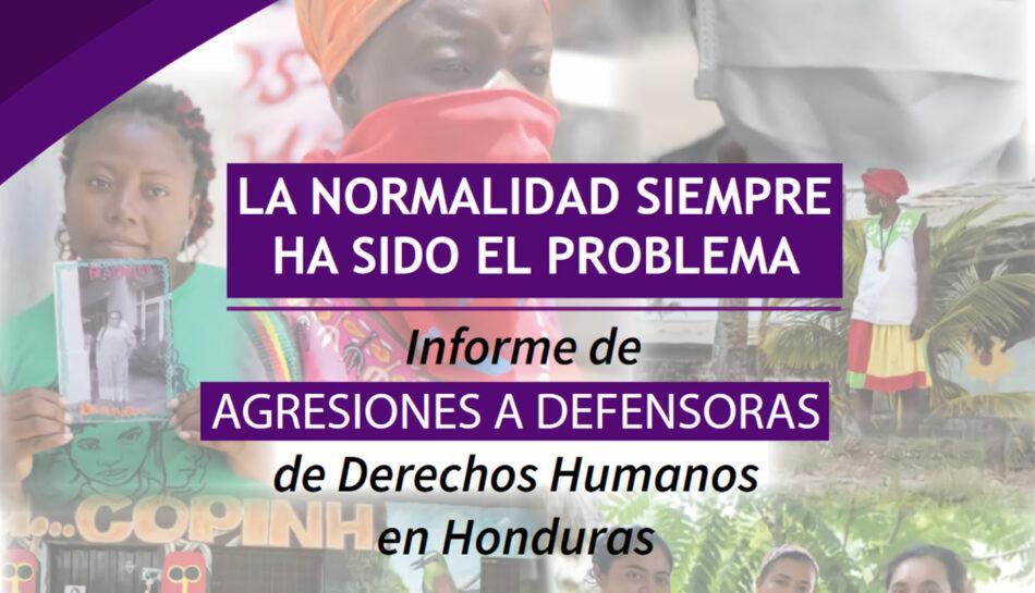 «La indefensión de las defensoras» en Honduras: Más de 500 agresiones y 4 asesinatos en el primer semestre del año