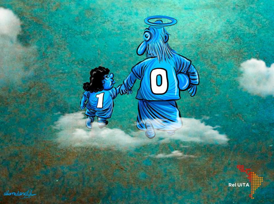 Maradona y Nápoles, un flechazo