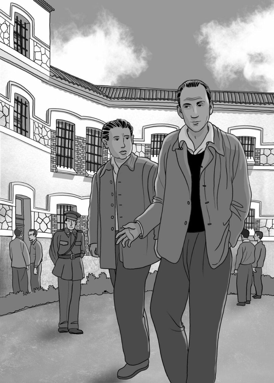 «Te llamo desde mi muro», un libro sobre el último año de vida en la cárcel del poeta Marcos Ana