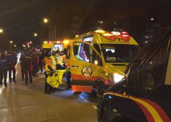 Más de 30 detenidos en los disturbios de Madrid