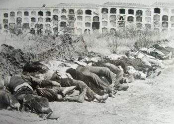 La terrible masacre de Badajoz del 14 y 15 de agosto de 1936