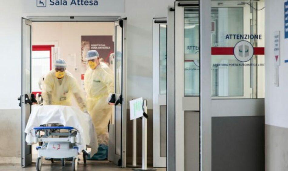 Una menor presión hospitalaria marca tendencia de Covid-19 en Italia