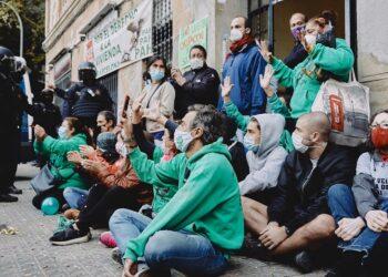 Desde Unidas Podemos presionan a Calviño y Ábalos a fin de prohibir los desahucios y los cortes de suministros durante el estado de alarma