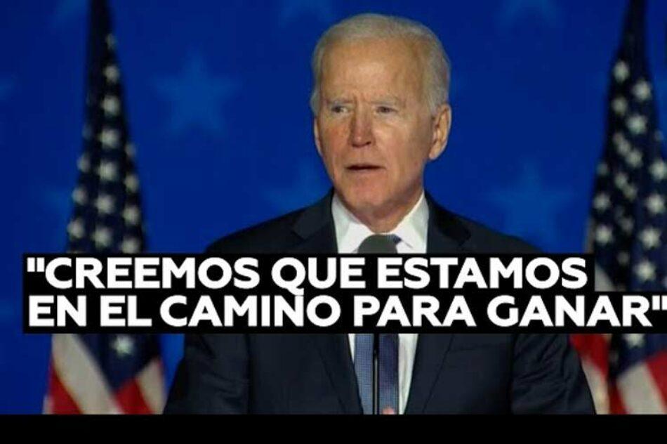 Biden pasó a encabezar conteo de votos en Pensilvania