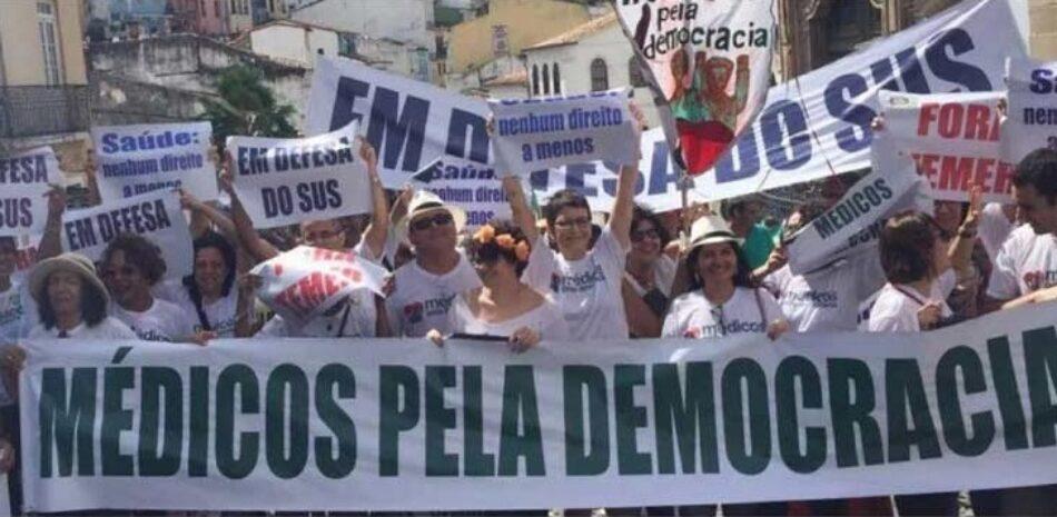 Médicos en Brasil llaman a derrotar fascismo en comicios municipales