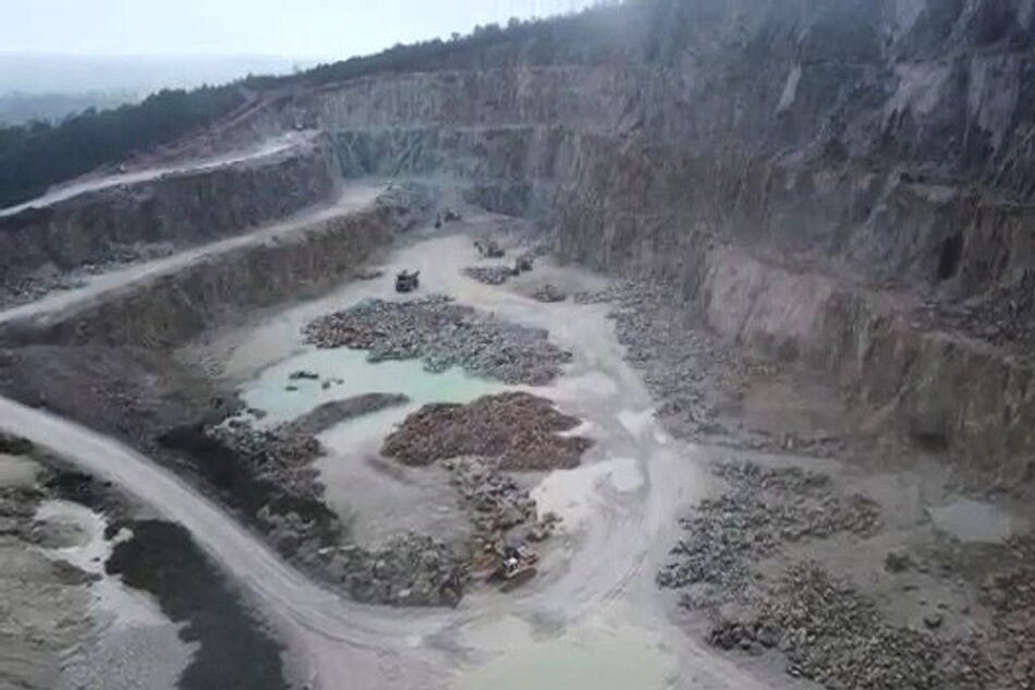 Falla el control de la Xunta en Varilongo: Ecoloxistas en Acción denuncia el grave riesgo de accidente en el Grupo Mineiro Santa Comba