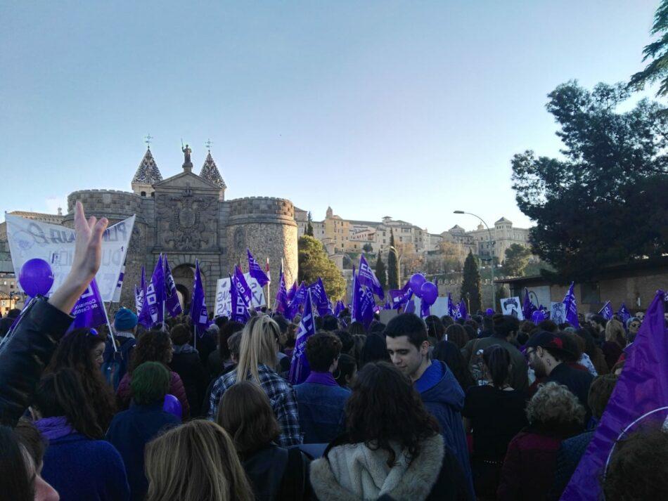 La Plataforma 8M de Toledo apoya una petición en la Unión Europea contra la criminilización del movimiento feminista