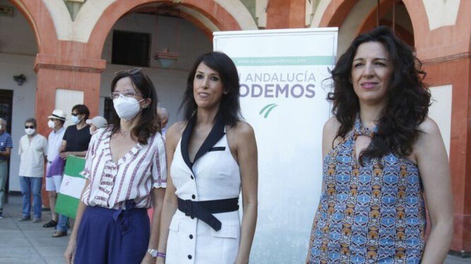 Podemos Andalucía valora la restitución de la normalidad democrática en el Parlamento