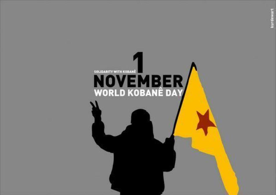 CGT se suma a la celebración internacional del Día Mundial por Kobanê para reivindicar la resistencia del pueblo kurdo frente a los fascismos